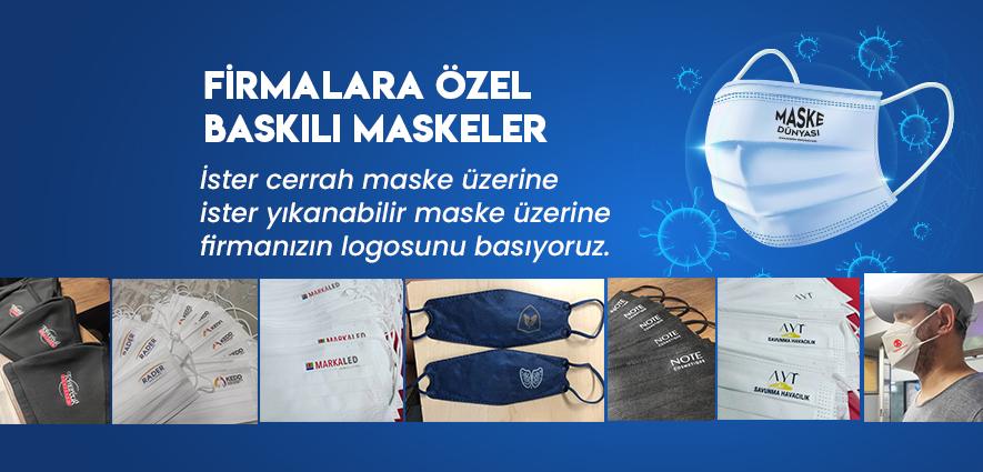 firma-logolu-maske